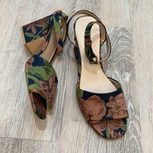 Zara strappy Flower Heels